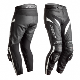 RST Tractech Evo 4 CE Black White Leather Jeans